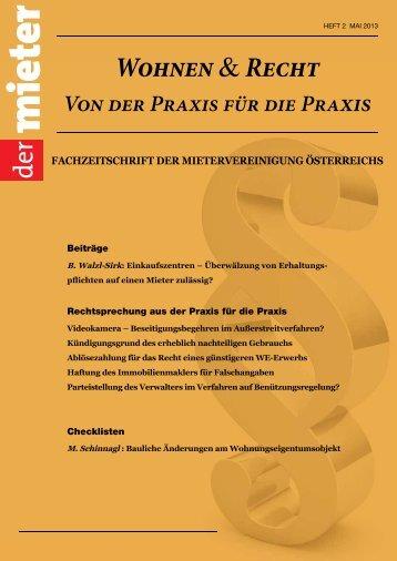 W &R - Die Mietervereinigung Österreichs