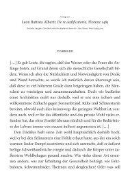 Leon Battista Alberti: De re aedificatoria, Florenz ... - Architekturtheorie
