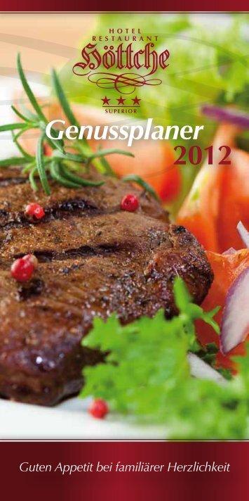 Guten Appetit bei familiärer Herzlichkeit - Hotel Restaurant Höttche