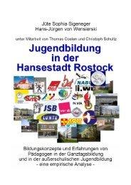 Jugendbildung in der Stadt Rostock. Bildungskonzepte und ...