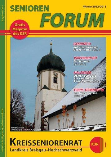 Winterausgabe als PDF-download - Kreisseniorenrat - Landkreis ...