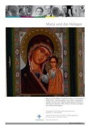 Maria und die Heiligen.pdf - KAMP