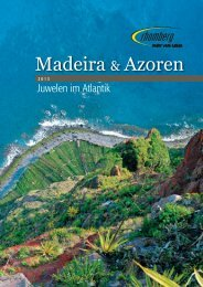 Madeira & Azoren 2013.indd - Rhomberg Reisen