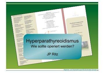 Hyperparathyreoidismus - Fischland Symposium 2013