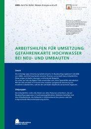 Arbeitshilfen AWEL/GVZ - elementarschaden.ch