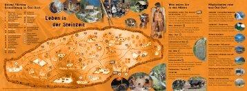 Leben in der Steinzeit - Ötzi-Dorf