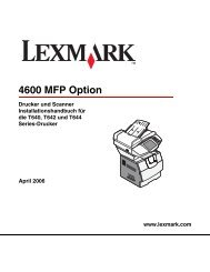 T64x - Lexmark