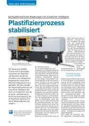 Plastifizierprozess stabilisiert - Neue Verpackung