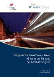 Ratgeber für Investoren – Polen Hinweise zur Führung der ...
