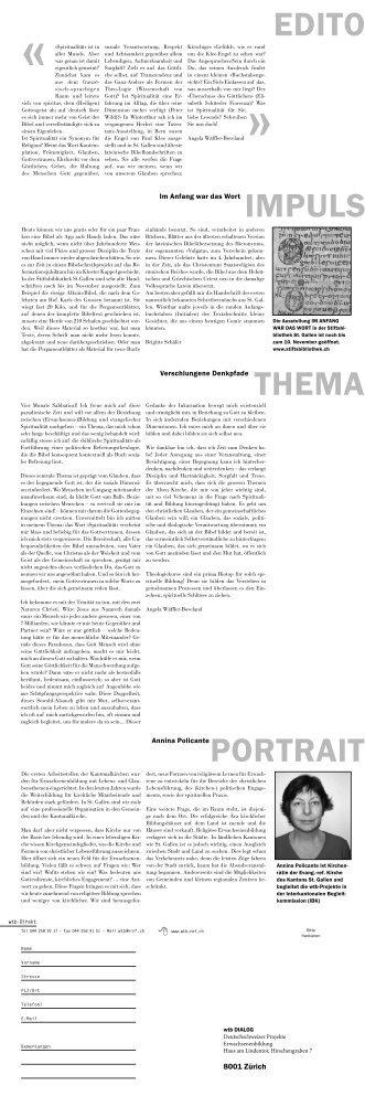 wtb dialog 1/2013 - Theologiekurs