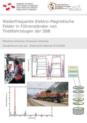 Niederfrequente Elektro-Magnetische Felder in ... - LOITS GmbH