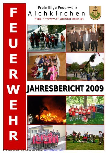 JAHRESBERICHT 2009 - FF-Aichkirchen