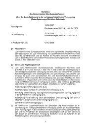 Richtlinie-Bedarfsplanung (Stand: 01.10.2008)