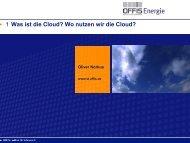 Was ist die Cloud? Wo nutzen wir die Cloud? 1 - beim ...