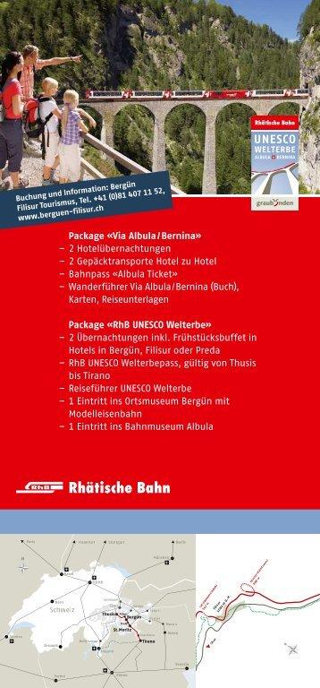 Flyer Bahnerlebnisweg Albula.pdf - Schwarzwaldbahn Erlebnispfad