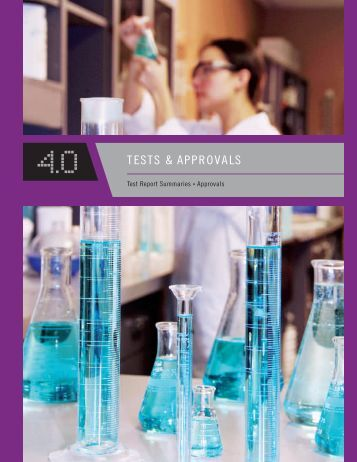 Section 4: Tests & Approvals - Xypex Chemical Corporation