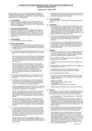 handelsübliche bedingungen für die lieferung von gussbruch und ...