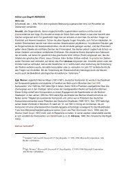 Artikel zum Begriff ABRAXAS - 15m2 SNS