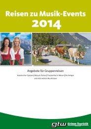 Reisen zu Musik-Events - Grimm Touristik