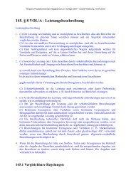 145. § 8 VOL/A - Leistungsbeschreibung - Oeffentliche Auftraege