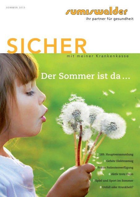 Ausgabe Sommer 2013 - Sumiswalder