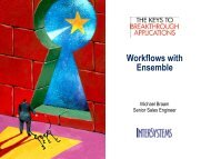 Workflows with Ensemble - InterSystems