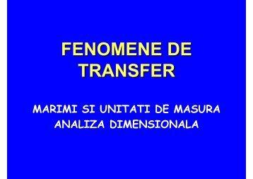 FENOMENE DE TRANSFER