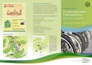 34. Internationales Volksradfahren - Thülsfelder Talsperre