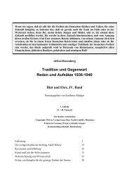 Tradition und Gegenwart Reden und Aufsätze 1936-1940