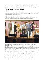 Zeitungsartikel General-Anzeiger - Theatergruppe Schwobastroich eV