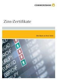 Zins-Zertifikate - Commerzbank - Commerzbank AG