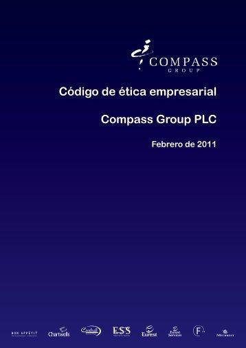 Código de ética empresarial Compass Group PLC - Eurest