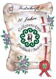 30 Jahre - Volkstanzkreis Fischbach