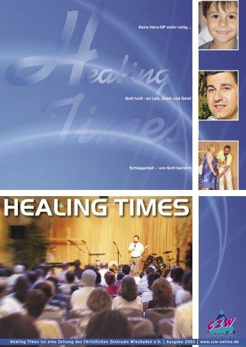 HEALING TIMES - Mobile Prayer