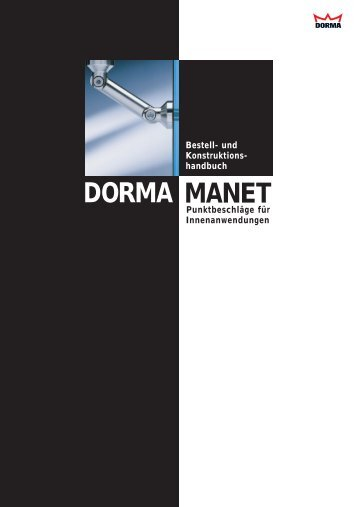 DORMA MANET - Fit In Glas
