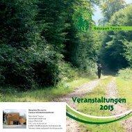 Veranstaltungen 2013 (12.3).indd - Naturpark Hochtaunus