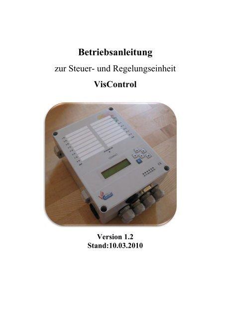Download VisControl-Bedienungsanleitung.pdf - Solar-Partner