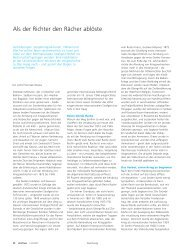Als der Richter den Rächer ablöste (pdf, 40KB) - Universität Bern