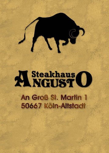 Download der Speisekarte (PDF) - steakhaus-angusto.de