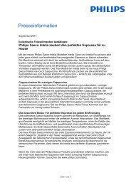 Presseinformation - Philips