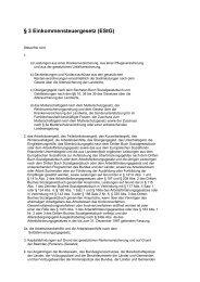 § 3 Einkommensteuergesetz (EStG) - LBV