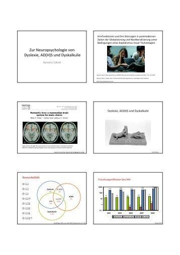 Zur Neuropsychologie von Dyslexie, AD(H)S und Dyskalkulie - SDBB
