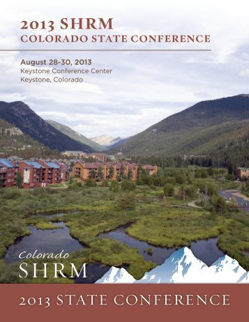 2013 SHRM Colorado State Conference