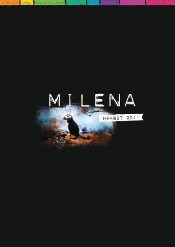 Herbst 2011 (PDF, 4.3MB) - Milena Verlag