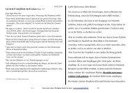 Aus dem Evangelium nach Lukas (Kap. 4 )* Liebe ... - Konrad Heil