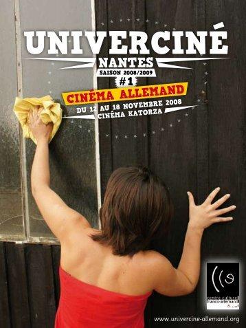 Programme complet du festival - Univerciné cinéma allemand ...