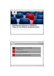 Bibliothekserstellung in CODESYS: Tipps für die effektive ...