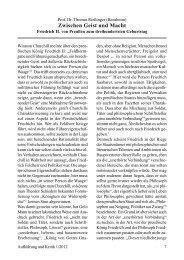 Prof. Dr. Thomas Rießinger Zwischen Geist und Macht. Friedrich II ...