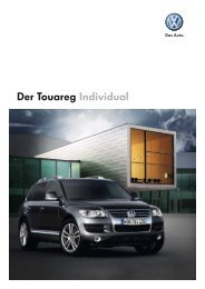 Der Touareg Individual - Autohaus Perski ohg