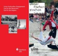 Programmheft Fischerstechen 2013 (PDF, 10.41 MB) - Ulm